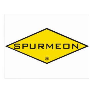 Spurmeon diamond unique motivational design postcard