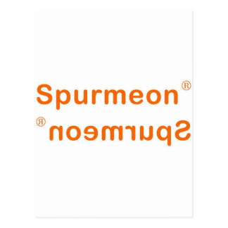 Spurmeon reflection postcard