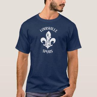 Spurs - White on Dark T-Shirt