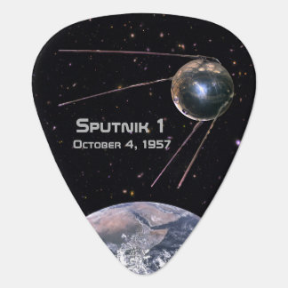 Sputnik 1 Earth Satellite Plectrum