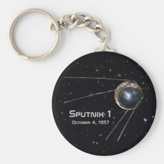 Sputnik 1 Satellite Key Ring