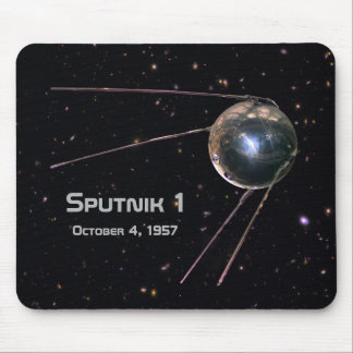 Sputnik 1 Satellite Mouse Pad