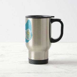 Sputnik and Laika Travel Mug