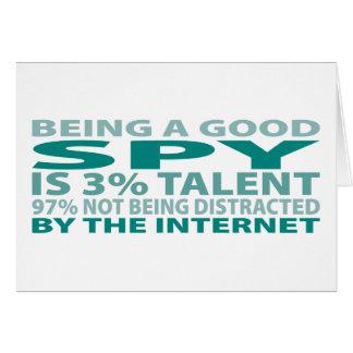 Spy 3% Talent Card