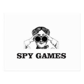 spy games yeah postcard