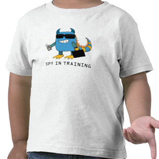 SPY IN TRAINING TEE SHIRTS