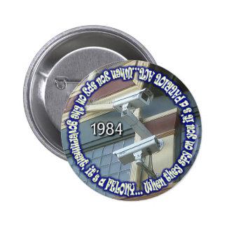 spy-on-the-government 6 cm round badge