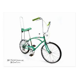 Spyder 5 Speed Bicycle Postcard