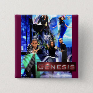 "SQ ""Genesis"" Button - Xander's Logo"