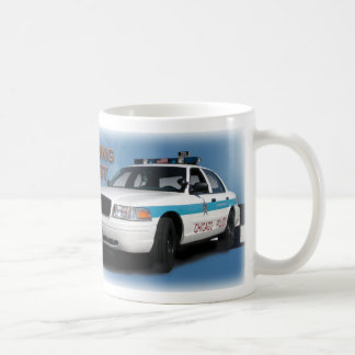 """Squad Checkerband """"Chicago's Finest"""" (close-up) Coffee Mugs"""