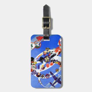 Squadron Insignia Bag Tag