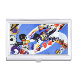 Squadron Insignia Business Card Holder