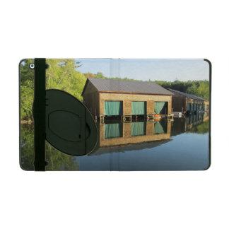 Squam River Boathouse iPad Cover