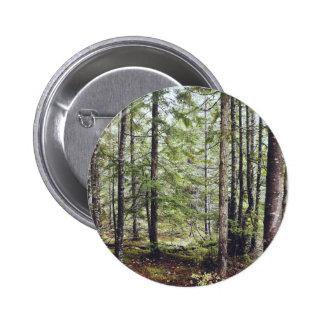 Squamish Forest Floor 6 Cm Round Badge