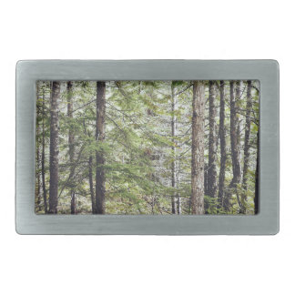 Squamish Forest Floor Rectangular Belt Buckle