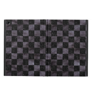 SQUARE1 BLACK MARBLE & BLACK WATERCOLOR COVER FOR iPad AIR