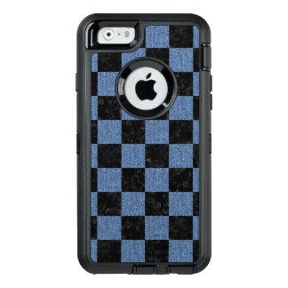 SQUARE1 BLACK MARBLE & BLUE DENIM OtterBox DEFENDER iPhone CASE
