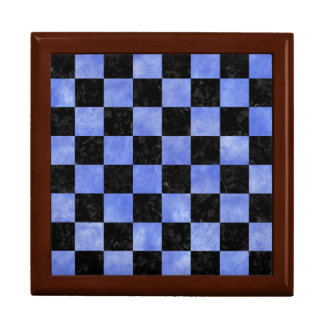 SQUARE1 BLACK MARBLE & BLUE WATERCOLOR GIFT BOX