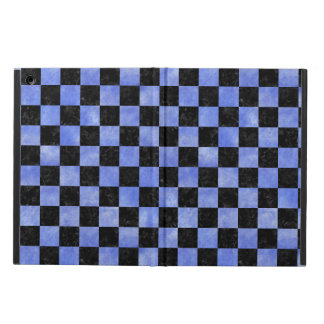 SQUARE1 BLACK MARBLE & BLUE WATERCOLOR iPad AIR CASE