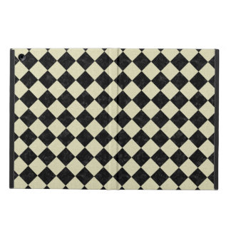 SQUARE2 BLACK MARBLE & BEIGE LINEN iPad AIR COVER