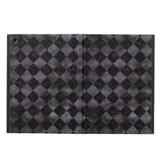 SQUARE2 BLACK MARBLE & BLACK WATERCOLOR iPad AIR COVER