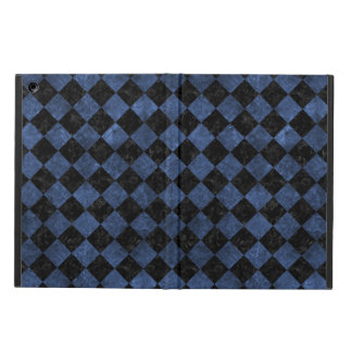 SQUARE2 BLACK MARBLE & BLUE STONE iPad AIR CASE