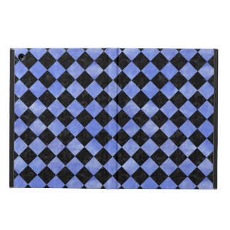 SQUARE2 BLACK MARBLE & BLUE WATERCOLOR iPad AIR CASE
