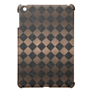 SQUARE2 BLACK MARBLE & BRONZE METAL CASE FOR THE iPad MINI