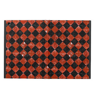 SQUARE2 BLACK MARBLE & RED MARBLE CASE FOR iPad AIR