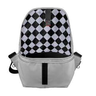 SQUARE2 BLACK MARBLE & WHITE MARBLE COMMUTER BAGS