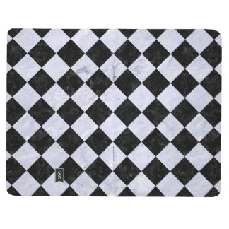 SQUARE2 BLACK MARBLE & WHITE MARBLE JOURNAL