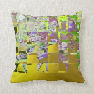 Square Abstract American MoJo Pillows Cushion