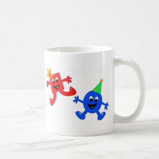 Square and Circle Cool Dudes Coffee Mug