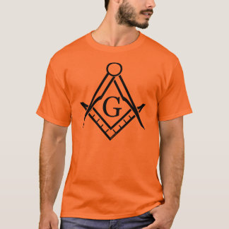 Square and Compass in Various Colors T-Shirt