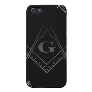 Square and Compass IPhone Case 2 iPhone 5 Case