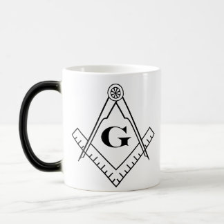 Square and Compass Morphing Mug