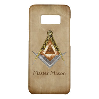 Square and Compass with All Seeing Eye Case-Mate Samsung Galaxy S8 Case