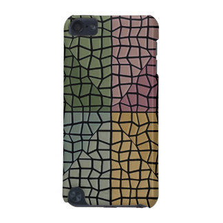 Square and triangle mosaic pattern iPod touch (5th generation) cover
