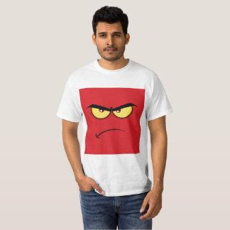 Square Angry Emoji T-Shirt