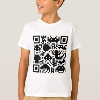 Square Barcode T-Shirt