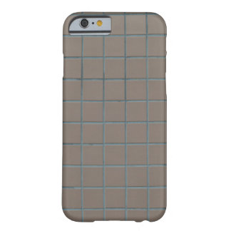 Square beige tiles barely there iPhone 6 case