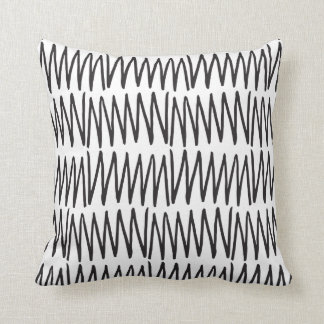 Square Berthe Geometric Throw Pillow