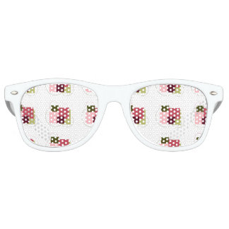Square & Circle Art Adult Retro Party Shades
