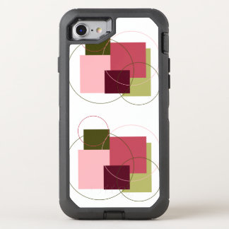 Square & Circle Art iPhone 6/6s Otterbox OtterBox Defender iPhone 7 Case