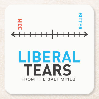 Square Coasters Econo - Liberal Tears Meter Biter