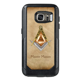 Square & Compass with All Seeing Eye OtterBox Samsung Galaxy S7 Case