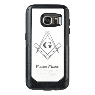 Square & Compass with Inset G - Ombre OtterBox Samsung Galaxy S7 Case