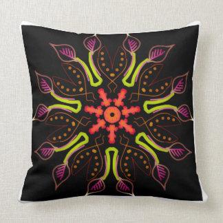 Square cushion Jimette Design Mandala 2