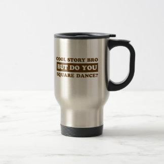 square Dance Designs Travel Mug