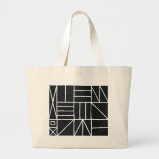 Square Dance ( line minimalism ) Canvas Bags